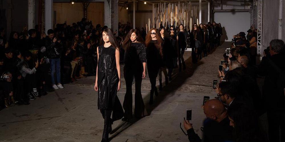 Criações de Luis Buchinho na Semana de Moda de Paris