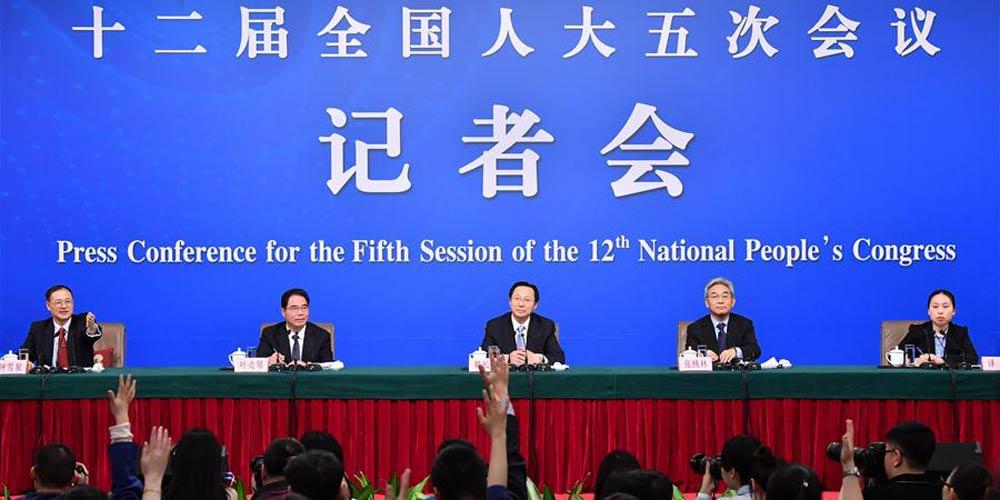 Ministro e vice-ministro da Agricultura participam de conferência de imprensa na 5ª sessão da APN
