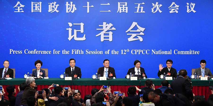 Membros da CCPPC participam de conferência de imprensa sobre o fortalecimento da confiança na cultura chinesa