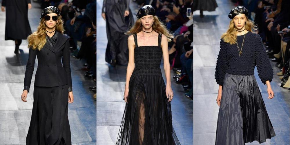 Christian Dior apresenta sua coleção Outono/Inverno 2017 na Semana de Moda de Paris