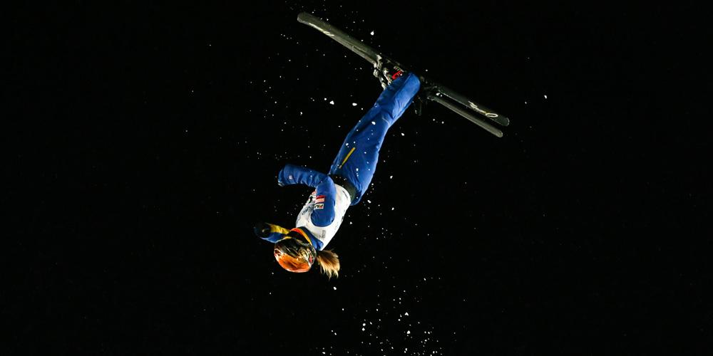 Em imagens: finais do campeonato mundial de esqui estilo livre