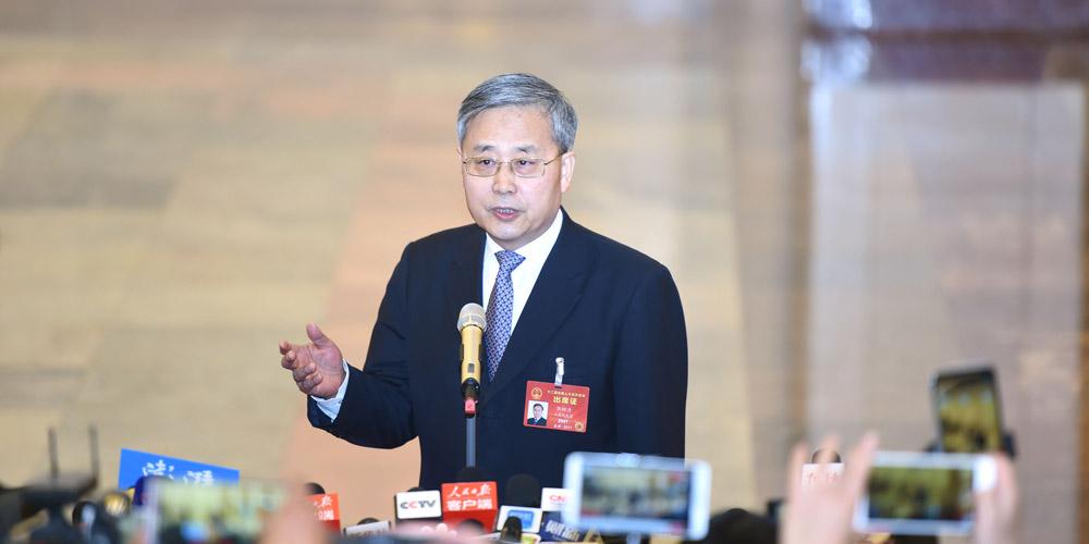 Ministros concedem entrevistas antes da 2ª reunião plenária da 5ª sessão da 12ª APN