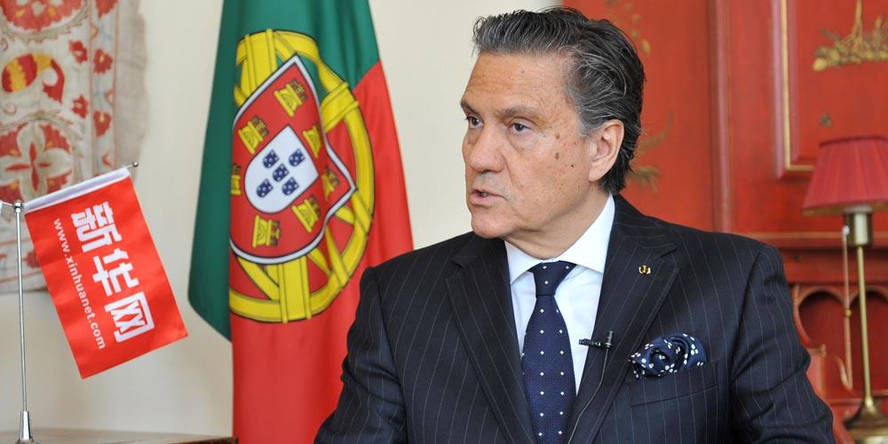 Portugal possui infraestrutura e tem interesse em participar da Iniciativa do Cinturão e Rota, diz embaixador