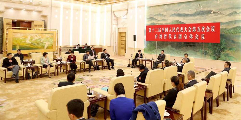 Reunião plenária dos deputados da província de Taiwan para a 12ª APN é aberta à imprensa