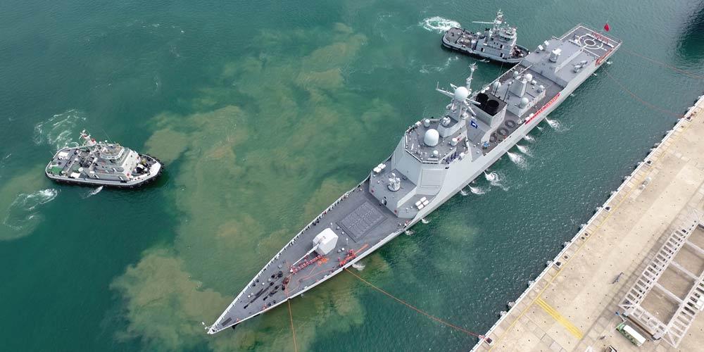 Navios de guerra da China regressam após treinamento em alto-mar