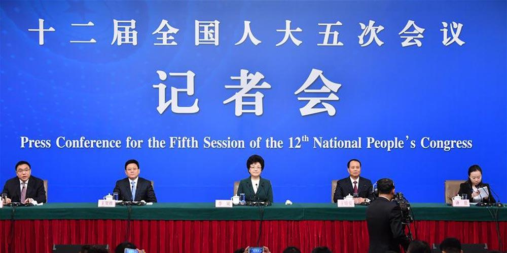 Conferência de imprensa sobre saúde e reformas de planejamento familar é realizado em Beijing