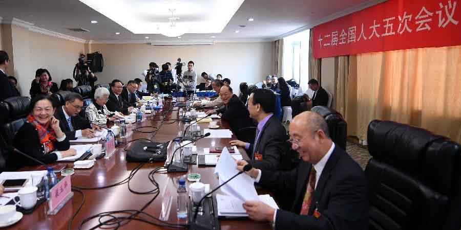 Reunião plenária dos deputados da 12ª APN de Macau é aberta à imprensa