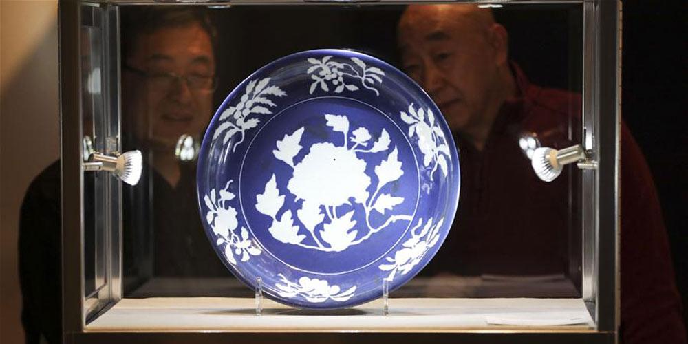 Exposição da Semana de Ásia da Sotheby's é realizada em Nova York