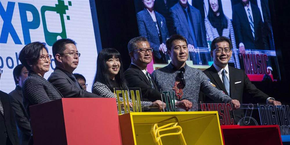Feira Internacional de Cinema e Televisão é realizada em Hong Kong