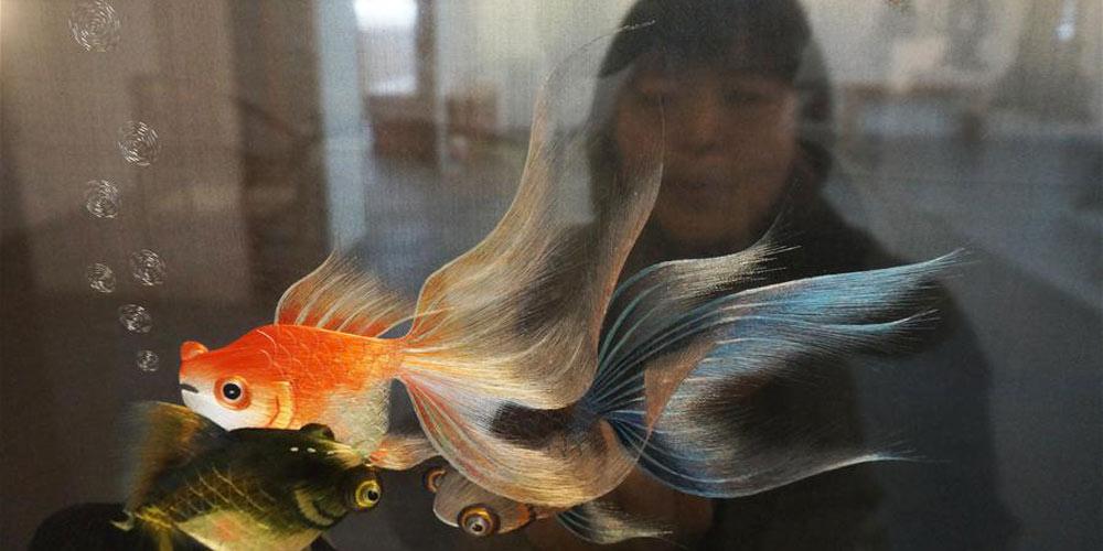 Em imagens: Trabalhos de bordado da artista Liang Xuefang