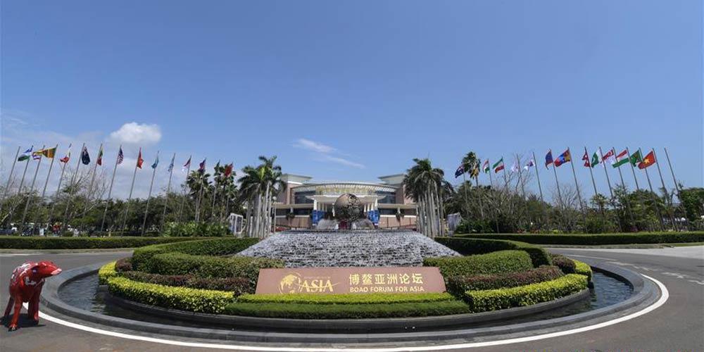 Conferência anual do Fórum Boao inicia-se no sul da China