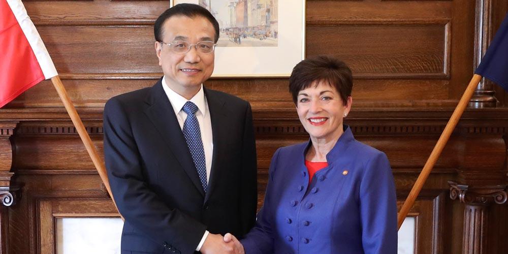 Premiê chinês reúne-se com governadora-geral da Nova Zelândia