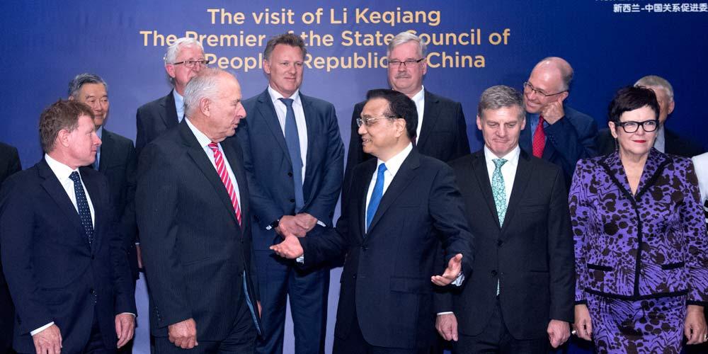 China e Nova Zelândia aprofudarão relações para obter benefícios mútuos