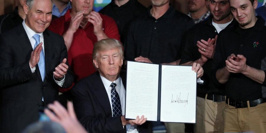 Ordem de Trump de reverter políticas climáticas da era Obama causa reações mistas