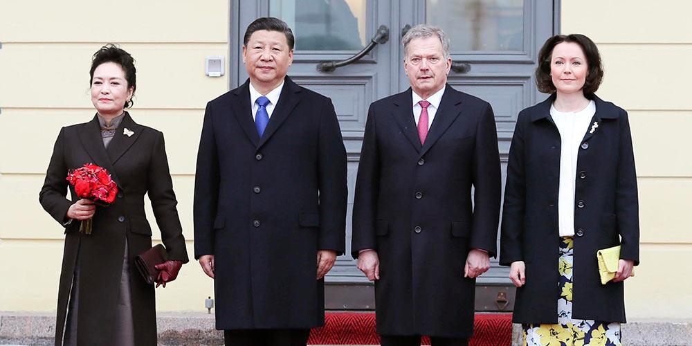 China e Finlândia concordam em avançar laços e aprofundar cooperação