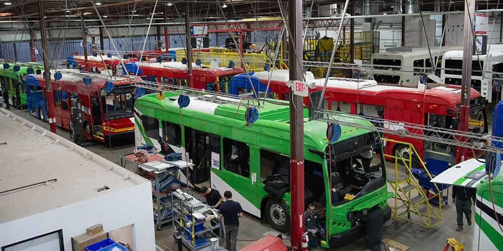 Empresa chinesa BYD estabelece fábrica em Lancaster, Estados Unidos