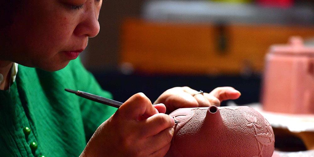 Cerâmica Nixing: Artesanato consagrado em Guangxi no sul da China