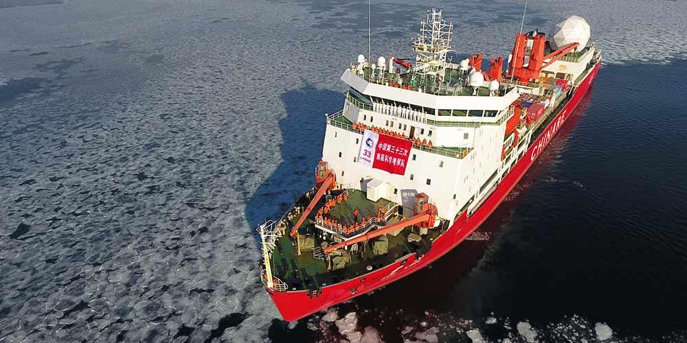 China publica relatório sobre desenvolvimento da Antártica