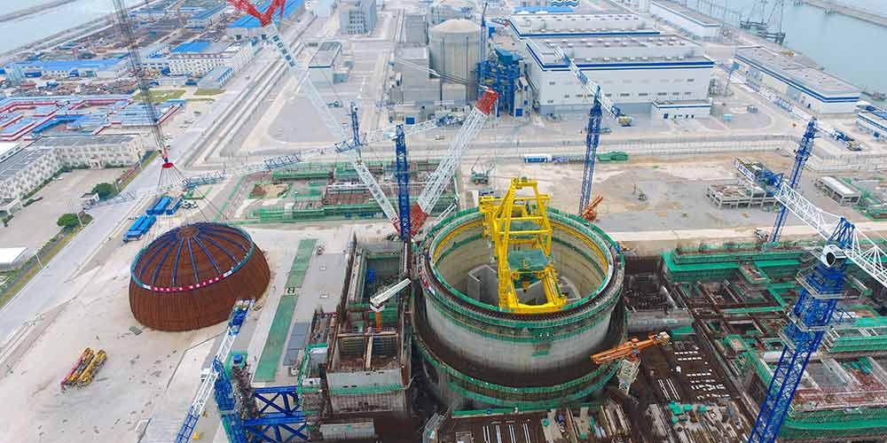 China conclui construção do primeiro projeto nuclear Hualong One