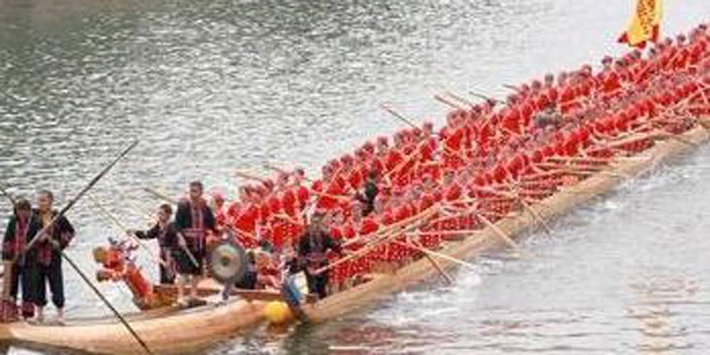 Equipe chinesa do barco de dragão estabelece novo recorde Guinness