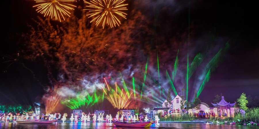 Festival Internacional de Turismo de Zhouzhuang inicia em Jiangsu