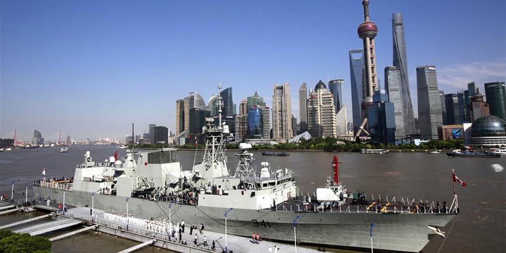 Navio canadense chega a Shanghai para visita de 7 dias