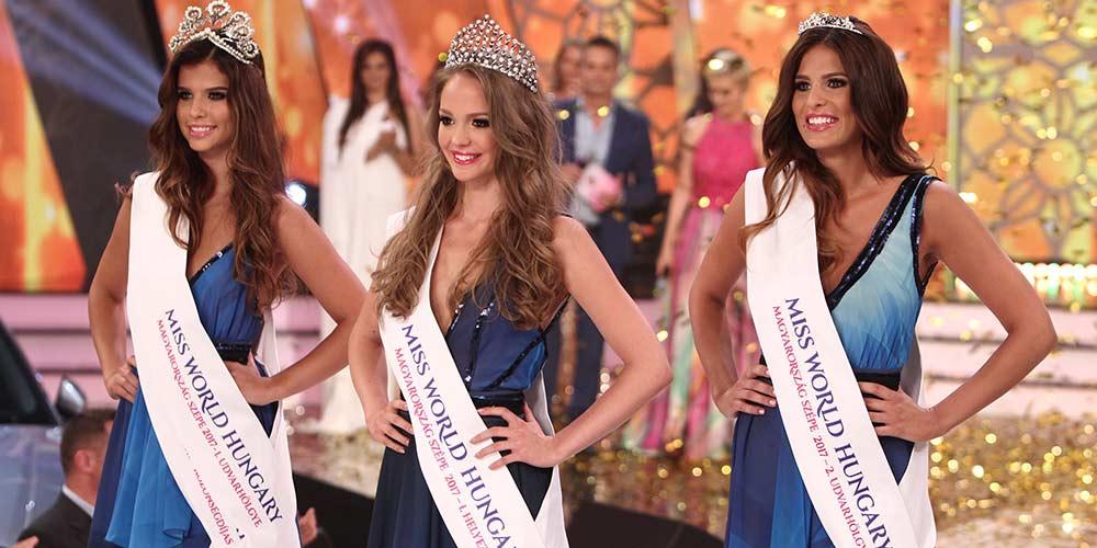 Virag Koroknyai é Miss Mundo Hungria 2017