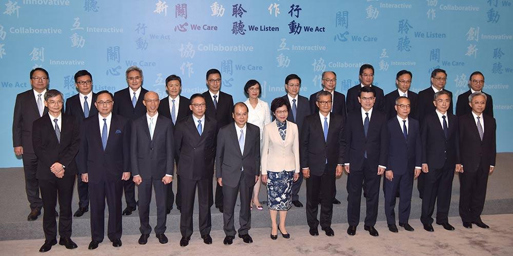 Chefe do Executivo do 5º mandato da RAEHK promete servir ao povo com pragmatismo