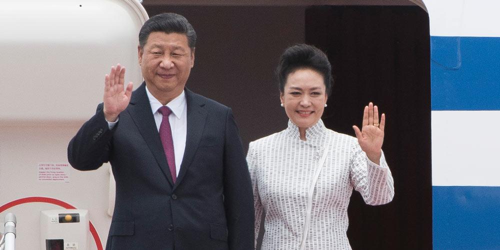 Presidente chinês chega a Hong Kong para celebração do 20º aniversário de regresso  de Hong Kong à pátria