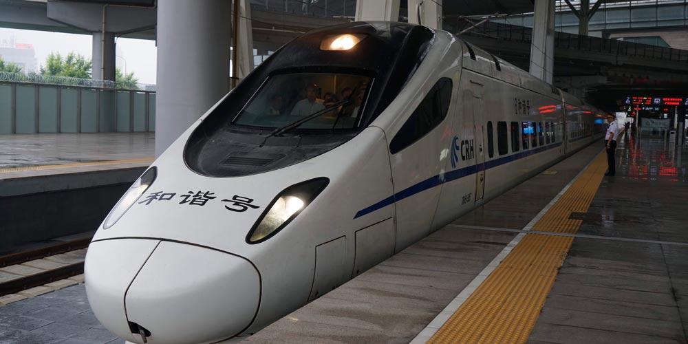 Trens-bala começam operação entre Beijing e Nova Área de Xiongan