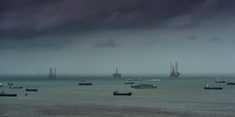 China renova alerta azul para tufão Talas