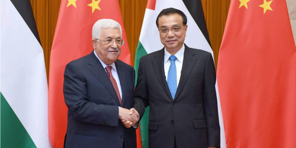 China fortalecerá cooperação com Palestina em comércio e infraestrutura