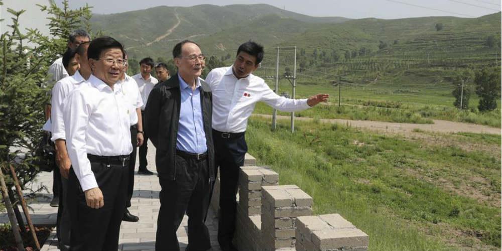 Chefe chinês anticorrupção destaca papel de supervisão no alívio da pobreza
