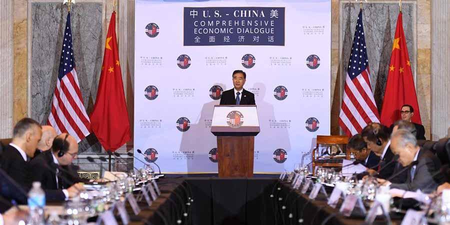 Vice-premiê chinês quer cooperação com EUA para abordar diferenças