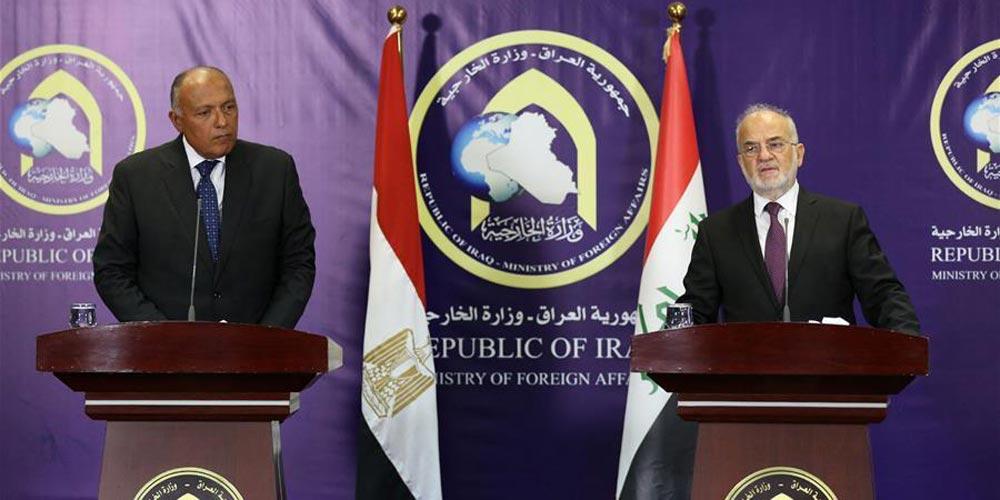 Ministro das Relações Exteriores do Egito visita o Iraque para impulsionar a cooperação contra o terrorismo