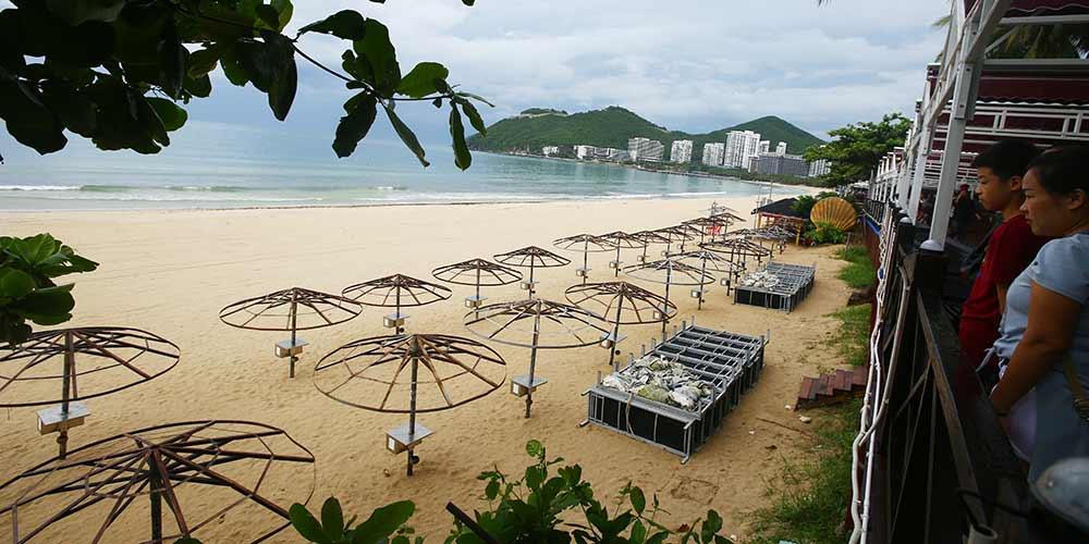 Província de Hainan toma medidas preventivas contra tufão Sonca