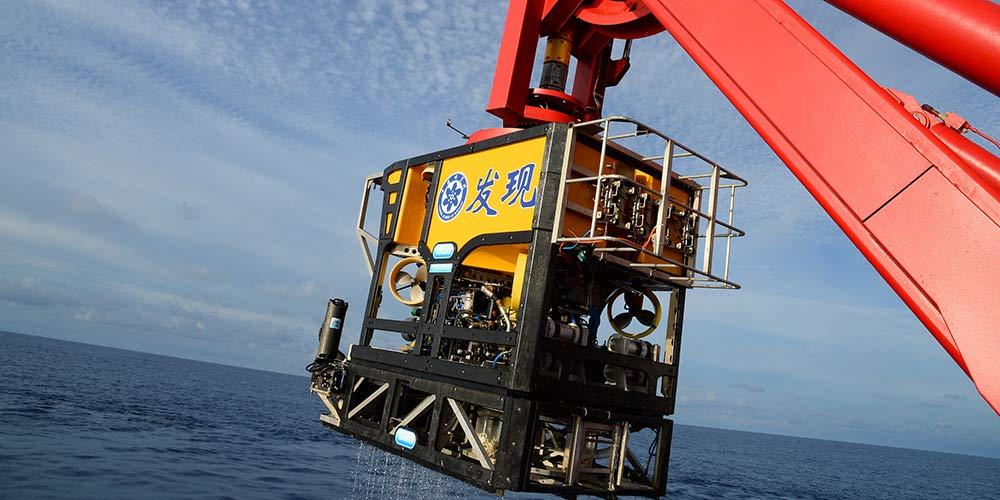 Navio de pesquisa chinês realiza operação no Mar do Sul da China