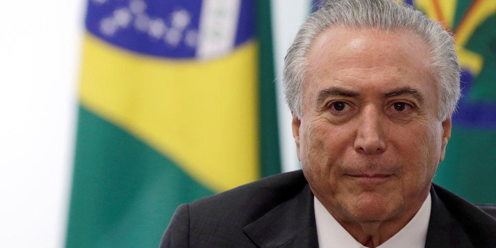 Rejeição ao presidente brasileiro Temer chega a 94 %