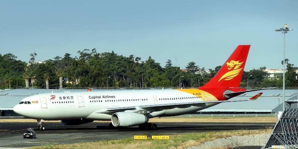 Airbus realiza primeiro voo direto entre China e Portugal