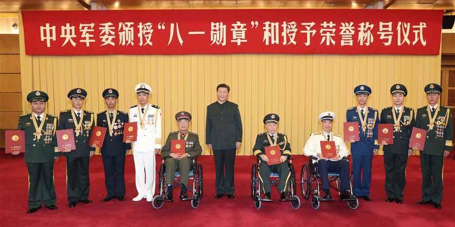 Xi Jinping assina ordem para honrar oficiais militares