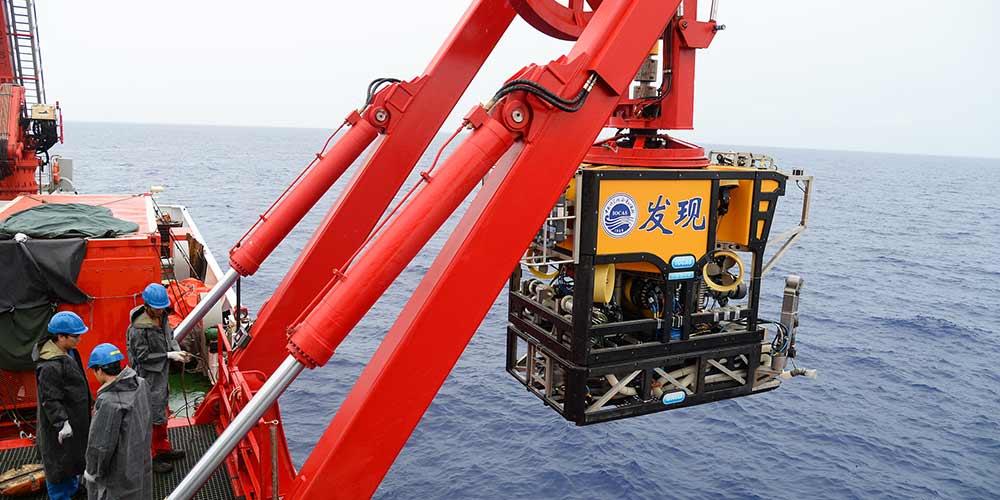 Navio científico Kexue começa a explorar oeste do Oceano Pacífico