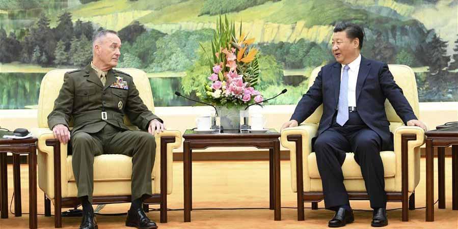 Presidente chinês reúne-se com general de alto escalão dos EUA