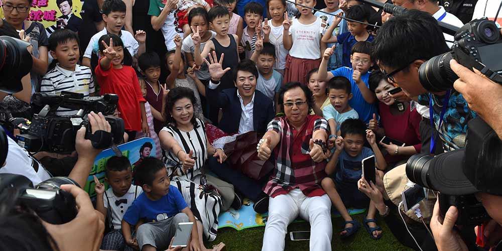 Lang Lang comparece à inauguração de praça com seu nome em Shenyang, no nordeste da China