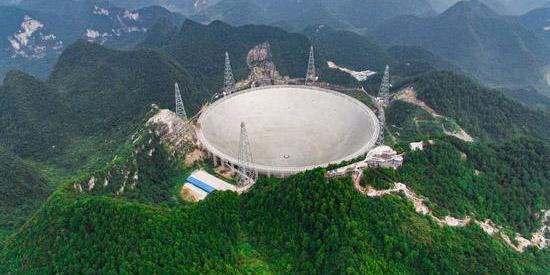 China ajusta rotas aéreas para maior telescópio de rádio do mundo não ter interferências