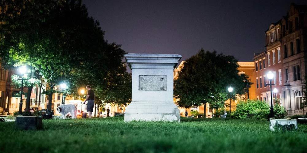 Cidade americana de Baltimore remove quatro monumentos de confederados