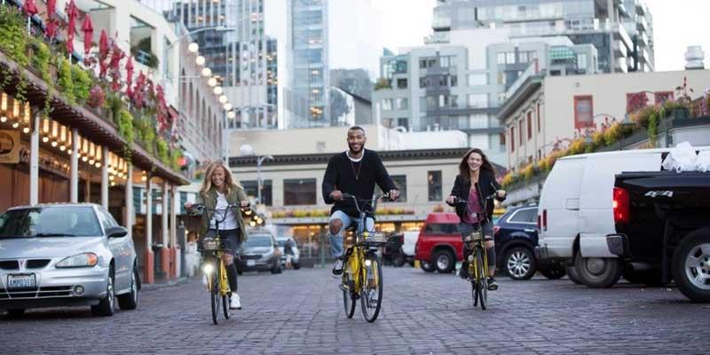 Companhia de compartilhamento de bicicletas chinesa se expande para Seattle