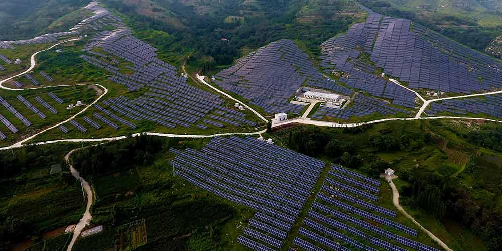 Resultado de imagem para geração fotovoltaica da China