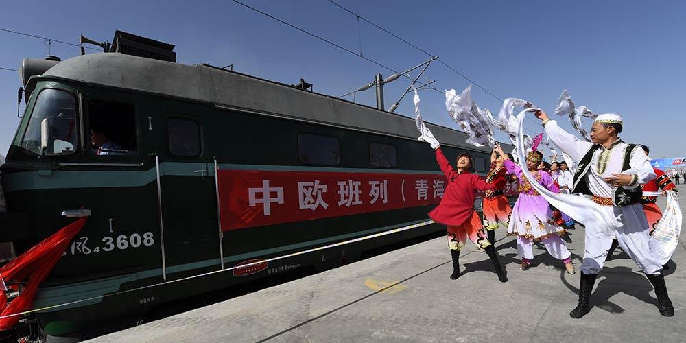 China inaugura trem de carga de Qinghai até Rússia