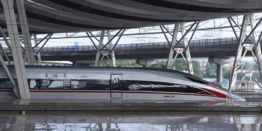 Trens-bala de nova geração da China entram em operação na Ferrovia Interurbana Beijing-Tianjin