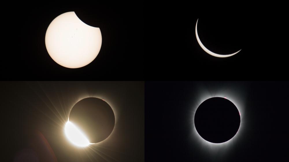 """Eclipse """"único em um século"""" cruza os Estados Unidos"""